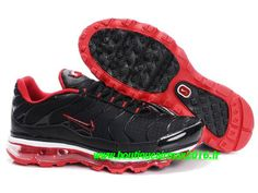 Nike Air Max Tn Requin/Tuned +2009 Chaussures Basket pour Homme Noir/Rouge 378137-ID6
