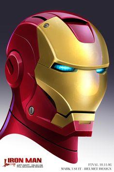 Iron Man concept art by Adi Granov, from 2007. More at the link. Iron Man Helmet, Iron Man Suit, Iron Man Armor, Marvel Comics, Marvel Vs, Batman Universe, Marvel Cinematic Universe, Iron Man Girl, Armadura Ninja