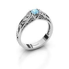 Quinty ring - Ontwerp je eigen ring online - DiamondsbyMe