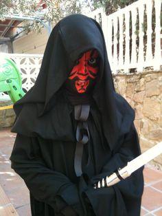 My soon David  Darth Maul costume =)