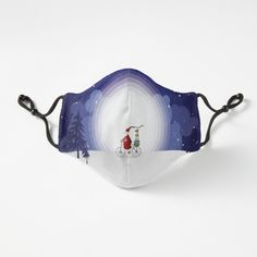 Mask Design, Snug Fit, Female Models, Masks, Just For You, Santa, Unisex, Group, Printed