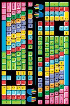 Kids Play Funtime Keyboard Multi (FT-100) Area Rugs