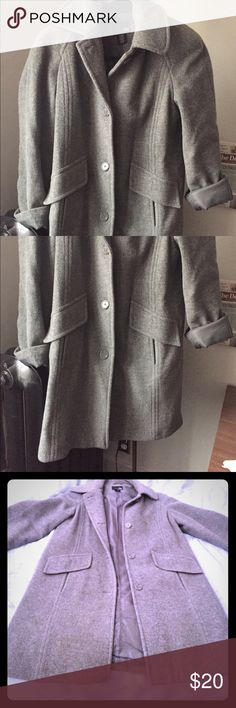 Women's Gray peacoat jacket from East 5th Woman's size Small peacoat from east 5th! A beautiful elegant gray color Excellent condition! No flaws! Comes from a pet and smoke free home!!! Fits true to size East 5th Jackets & Coats Pea Coats