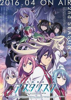 Gakusen Toshi Asterisk 2nd Season - Saison 02 - http://cpasbien.pl/gakusen-toshi-asterisk-2nd-season-saison-02/