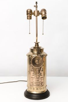 1stdibs | Antique English Fire Extinguisher Lamp