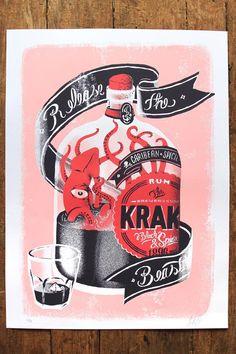 Kraken Embotellado - by Alan Berry Rhys