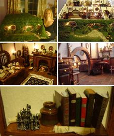 That's amazing! I maybe inspired to make a model of my future hobbit hole. Hmmmm..