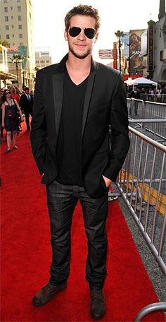 20 Most Stylish Men of 2011 - Liam Hemsworth from #InStyle