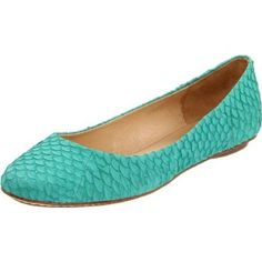 teal flats...a must-have for fall!