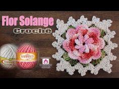 Passo a passo Flor Solange - Professora Simone - YouTube