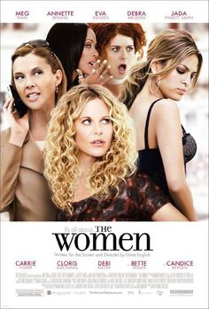 Annette Bening and Meg Ryan's characters in The Women
