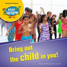 Remember the #childhood moments when you had a gala time dancing in rain for hours with your #friends? Relive the moment at #MMFunCity! #WaterPark #Raipur #Enjoy