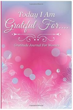 Gratitude Journal for Women, Gift Idea for women - great reminder to be grateful!