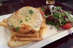 Chicken Parma from The Royal Oak, Fitzroy North