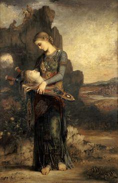 Afbeelding Gustave Moreau - Orphéus