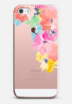 Watercolor Flowers Love for the new iPhone SE by @AngieMakes | @casetify