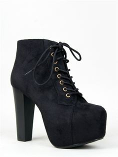 ce8932e6c7e1 Women High Heels Platforms Short Boots Winter Warm Shoes Crossed Shoelace   boot  heels www.loveitsomuch.com