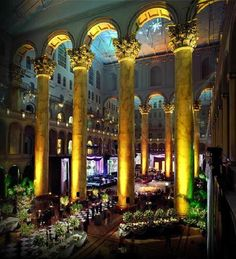 Wow: The National Building Museum, Washington DC