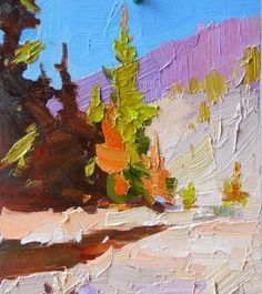 etude 3 Painting by Shandor Alexander