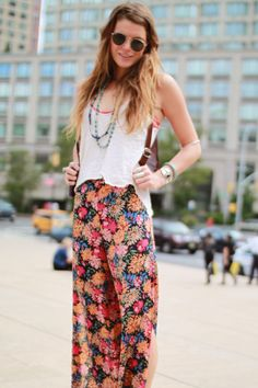 Love the hippy/casual style!