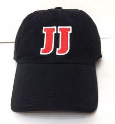 JIMMY JOHNS EMPLOYEE WORK HAT Black/Red JJ Letters Restaurant Sandwich Men/Women #JimmyJohns #BaseballCap