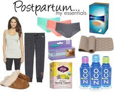Postpartum // My Essentials