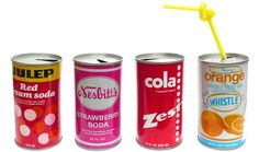 Bright and Sprightly Soda Cans