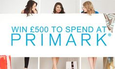 Win to spend at Primark. Shopping Vouchers, Vouchers Uk, Free Competitions, High Street Brands, Color Magic, Win Prizes, Online Shopping Stores, Latest Fashion, Humor