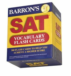 Barron's SAT Vocabulary Flash Cards by Sharon Weiner Green M.A., http://www.amazon.com/dp/1438070861/ref=cm_sw_r_pi_dp_nca-rb097XQHP