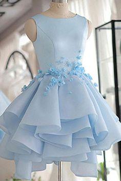 Prom Dresses A-Line #PromDressesALine, Short Prom Dresses #ShortPromDresses