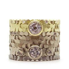 jo hayes ward stacking hex rings