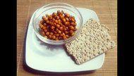 Garbanzos especiados y horneados (un snack sano y rico para picar entre horas)