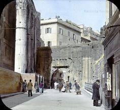 Roma Sparita. Foto storiche di Roma - Arco dei Pantani