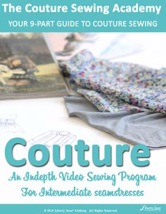Learn the art of sewing doll couture with Melinda Schlimmer, lead designer at Melody Valerie Couture!