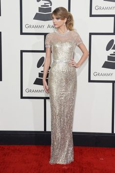 Taylor Swift - 56th GRAMMY Awards - Arrivals