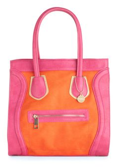this pink and orange colorblock trend has got to stop...because I'm spending way too much money on these colors.