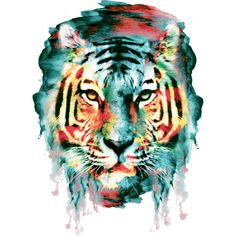 TIGER is a T Shirt designed by rizapeker to illustrate your life and is available at Design By Humans