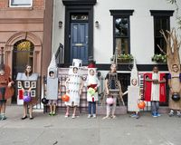 Brooklyn Author Tad Hills teaches on how to make amazing Halloween costumes.