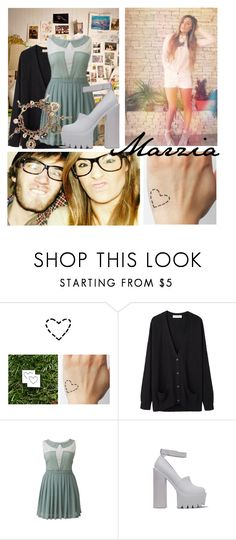 """""""Dress like Marzia!"""" by queen-4-giants ❤ liked on Polyvore featuring Organic by John Patrick, Jeffrey Campbell, Star by Julien Macdonald, Pewdiepie and cutiepiemarzia"""