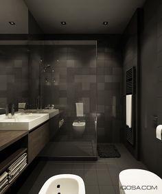 Loft apartment: Ванные комнаты в . Автор – IQOSA