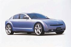 Mazda RS-EVOLV concept. 1999.