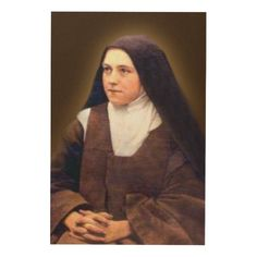 St Therese of Lisieux Wood Wall Decor