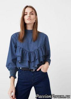 Shirt - Shirts for Woman Cut Up Shirts, Tie Dye Shirts, Mode Outfits, Casual Outfits, Denim Fashion, Fashion Outfits, Fashion Black, Emo Fashion, One Direction Shirts