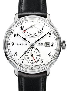 Graf Zeppelin LZ129 Hindenburg Automatic Watch with Power Reserve #7060-1