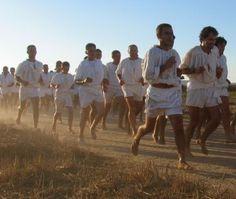La corsa degli scalzi di Cabras