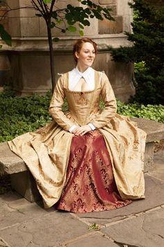 Elizabethan Renaissance Gown  Custom Made by welldressedlady, $350.00