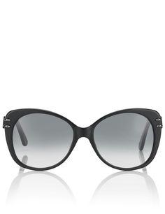 Black Zeppo Sunglasses   Roland Mouret Eyewear   Avenue32