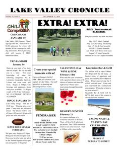 A cool, quick 1-page newspaper showcasing all local events and happenings #newspaper #localnewspaper #news