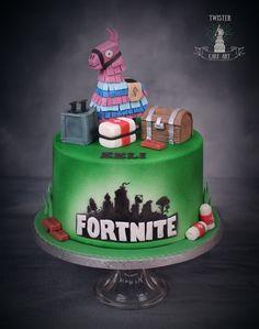 Fortnite kakku. Fortnite cake.