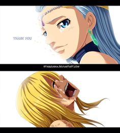 It was Lucy's reaction that got me #FairyTail